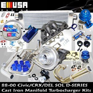 Turbo Kit D Series Honda Civic Del Sol DOHC D15 D16 88 00