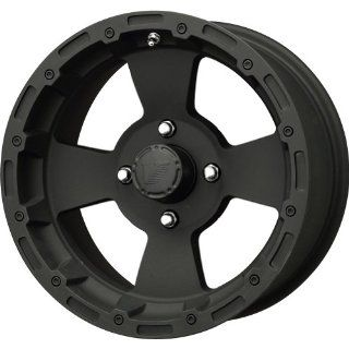 Vision Wheel Bruiser 161 Black Wheel (12x7/4x156mm)