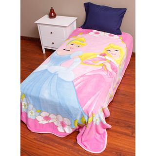 Disney Princess Girls Talk Fleece Blanket