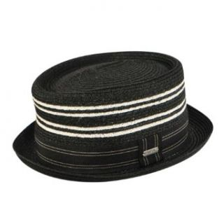 Kangol Ashton Braid Pork Pie Hat Clothing