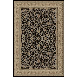Kashmir Collection Black Area Rug (710 x 106)