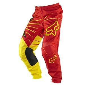 Fox Racing Rockstar 180 Pants   2012   28/Red/Yellow