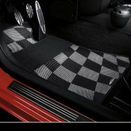 MINI 51 47 0 416 181 John Cooper Works Floor Mat, Set of Two, Rear