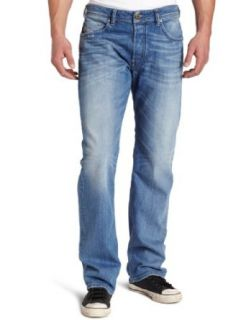 Diesel Mens Larkee Relaxed 8W7 Relaxed Straight Leg Jean