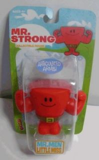 Mr. Men Little Miss ~ Mr. Strong ~ 2 Collectible Figure w