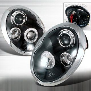 01 02 03 04 05 Mini Cooper Halo Projector Headlights (NOT for factory