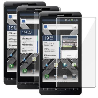 Motorola Droid X2 Daytona LCD Screen Protectors (Pack of 3