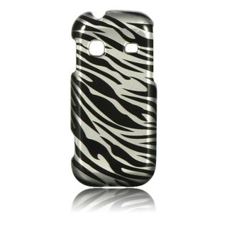 Luxmo Zebra Snap on Protector Case for Samsung Gravity TXT