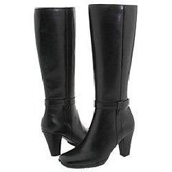 Santana Sydney Black Leather Boots (Size 6)