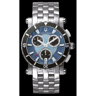 Accutron 26B74 Courchevel Mens Chronograph Watch