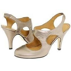 Nine West Zann Bronze Metallic Pumps/Heels