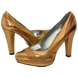 CARLOS by Carlos Santana Sweetness Bronze Multi Pumps/Heels