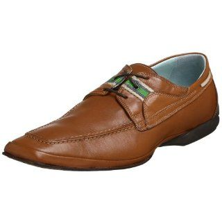 Bacco Bucci Mens Pronger Oxford,Tan,14 D US Shoes