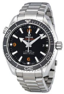 Omega Mens 232.30.42.21.01.003 Planet Ocean Black Dial Watch Watches