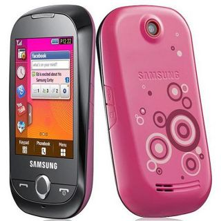 Samsung Corby S3653 Unlocked GSM Pink Cell Phone with Wi fi