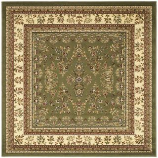 Lyndhurst Collection Sage/ Ivory Rug (8 Square)